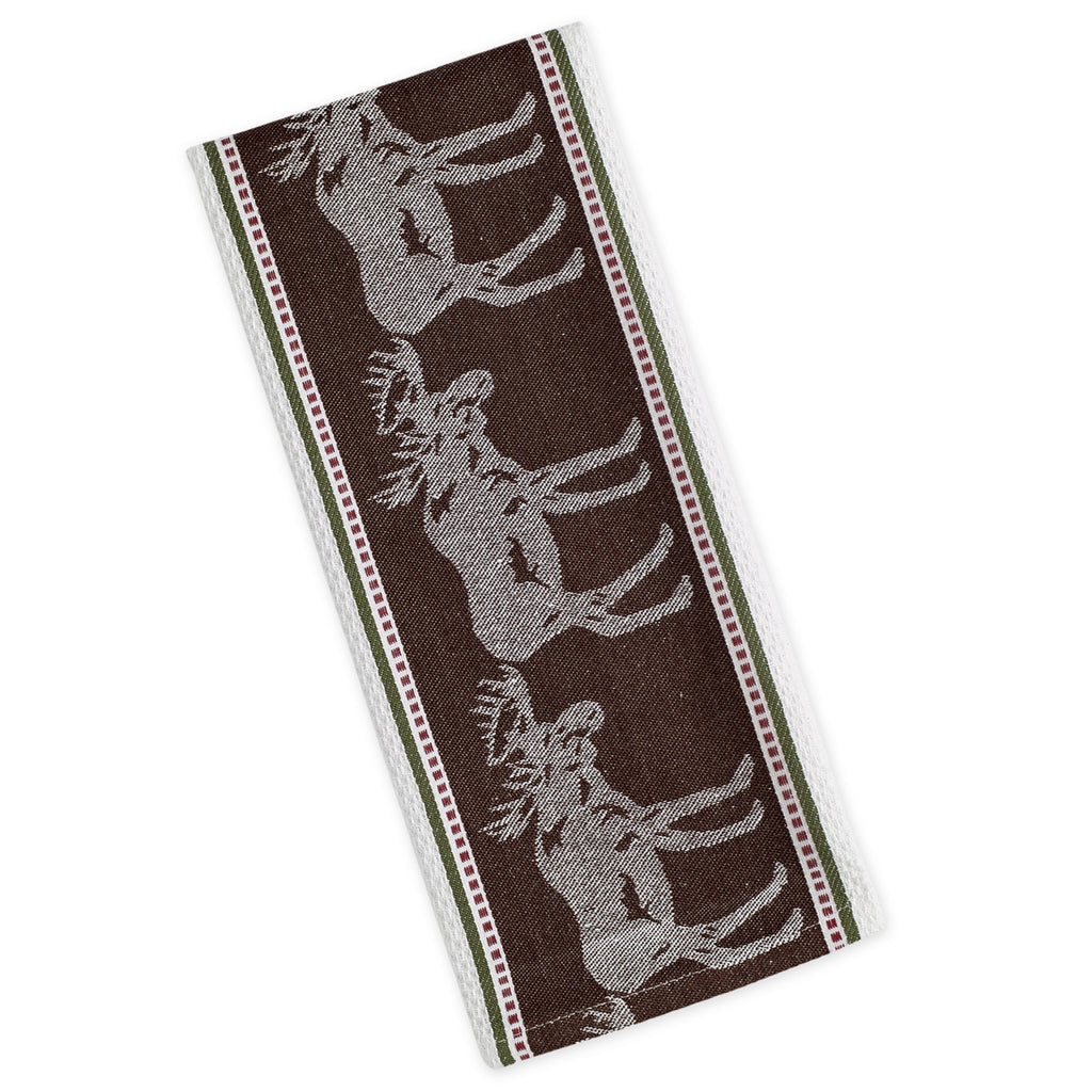 Wholesale Moose Jacquard Dishtowel - DII Design Imports