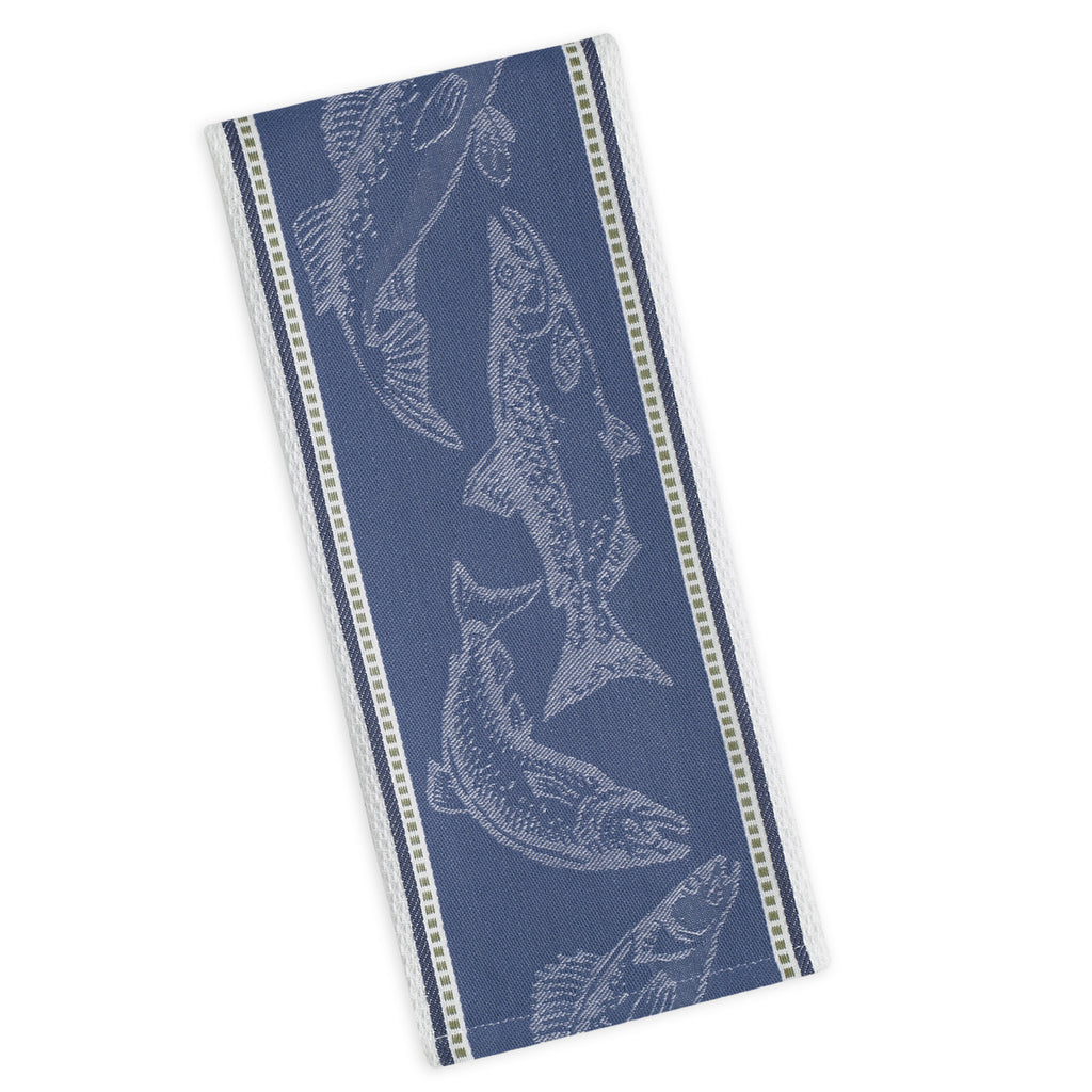 Wholesale Fish Jacquard Dishtowel - DII Design Imports