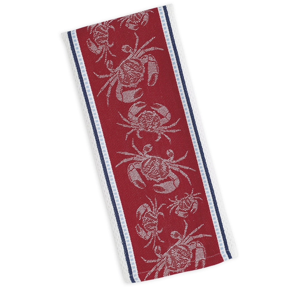 Wholesale Crab Jacquard Dishtowel - DII Design Imports
