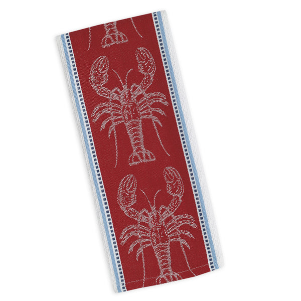 Lobster Jacquard Dishtowel - DII Design Imports