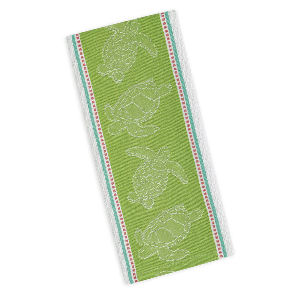 Sea turtle Jacquard Dishtowel - DII Design Imports