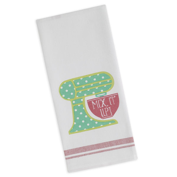 Wholesale - Mix it up Printed Dishtowel - DII Design Imports