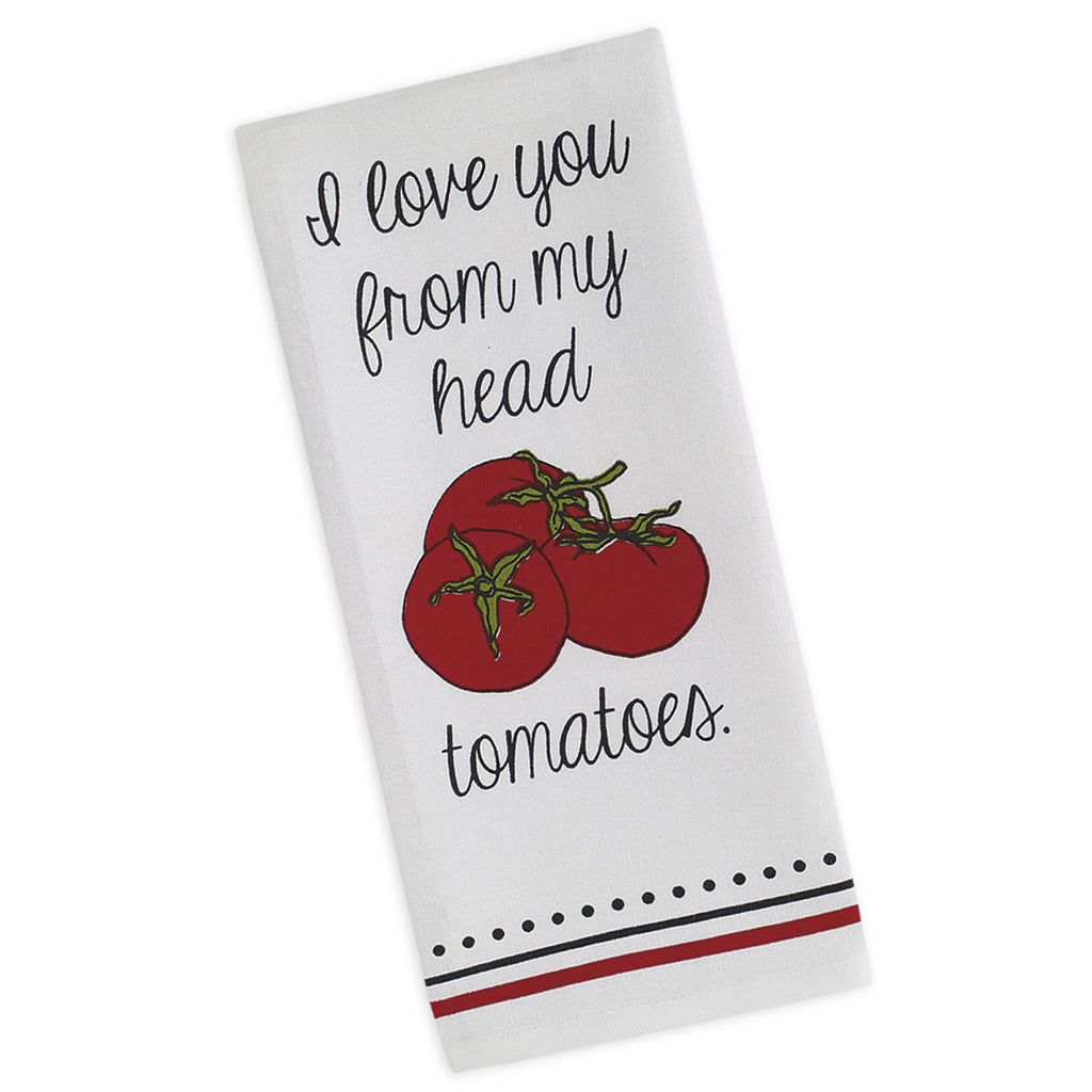 Wholesale - Tomatoes Printed Dishtowel - DII Design Imports