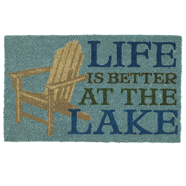 Wholesale - Life Better Lake Doormat - DII Design Imports