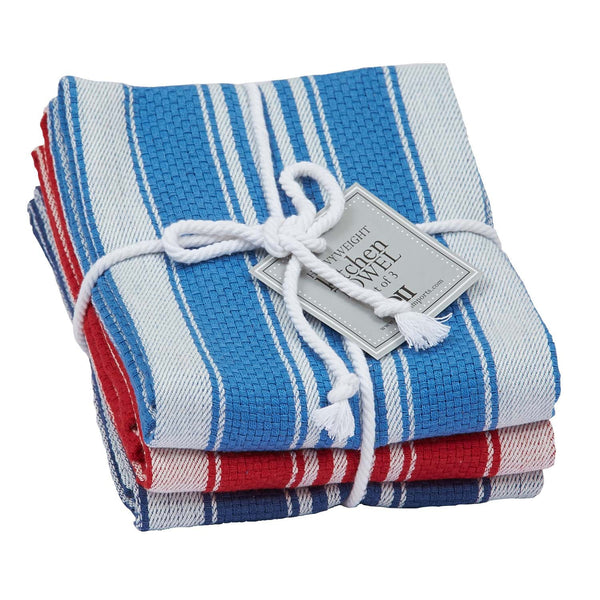 Wholesale - Maritime Heavyweight Dishtowel Set of 3 - DII Design Imports - 1
