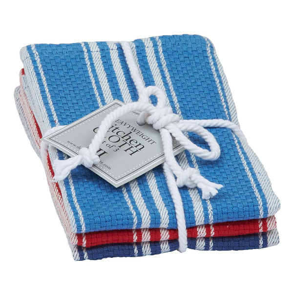 Wholesale - Maritime Heavyweight Dishcloth Set of 3 - DII Design Imports - 1