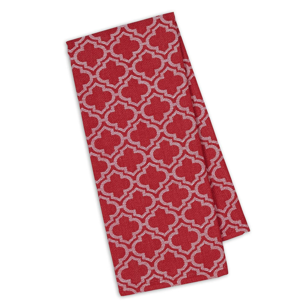 Tango Lattice Jacquard Dishtowel - DII Design Imports