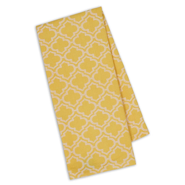 Daffodil Lattice Jacquard Dishtowel - DII Design Imports