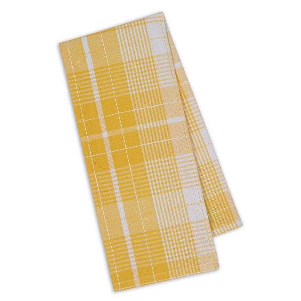 Wholesale Daffodil Garden Plaid Dishtowel - DII Design Imports