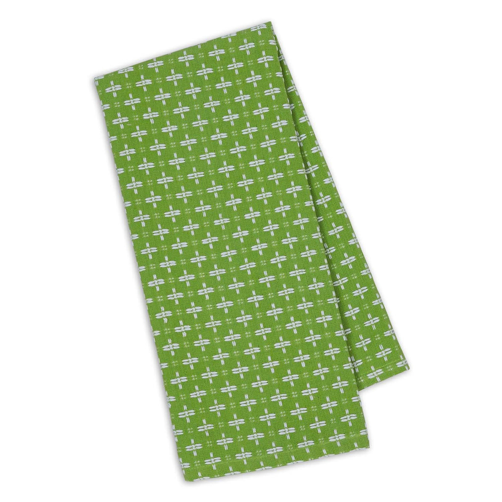 Lime Zest Dobby Plus Dishtowel - DII Design Imports