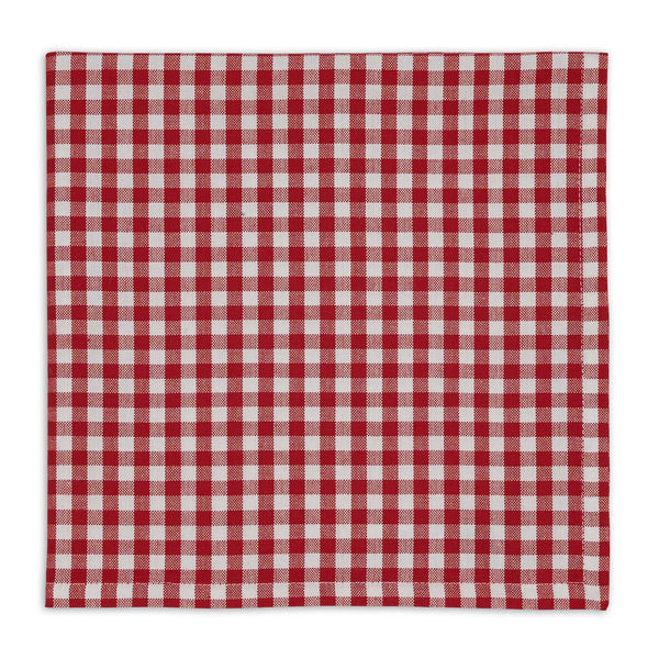 Tango Red Checks Napkin