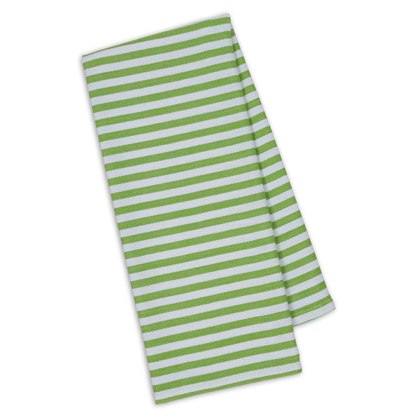 Wholesale Lime Zest Petite Stripe Dishtowel - DII Design Imports