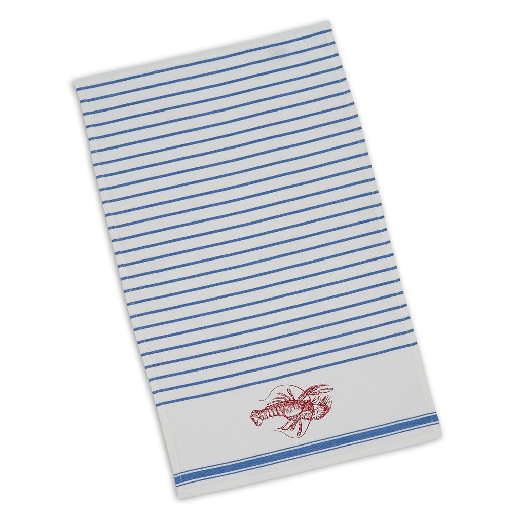 Wholesale Lobster Stripe Printed Dishtowel - DII Design Imports
