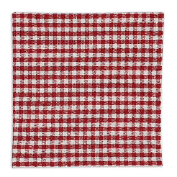 Red Checkin Little Napkin - DII Design Imports