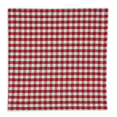 Wholesale - Red Checkin Little Napkin - DII Design Imports - 1