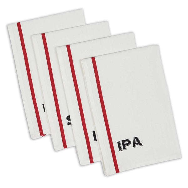 Beer Pub Printed Dishtowels - DII Design Imports