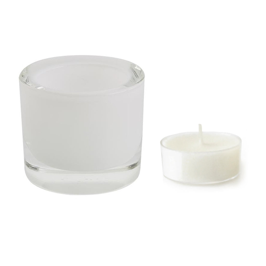 Wholesale - White Tea Light Candle Holder - DII Design Imports - 3