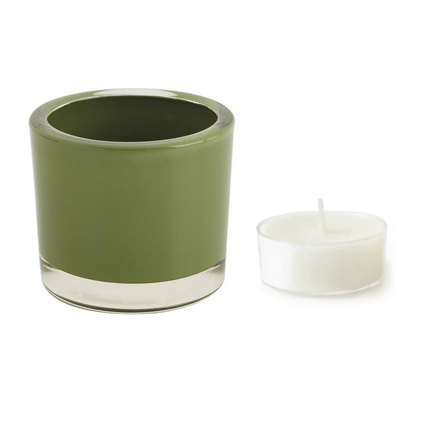 Lime Green Tea Light Candle Holder - DII Design Imports