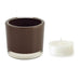 Chocolate Tea Light Candle Holder - DII Design Imports
