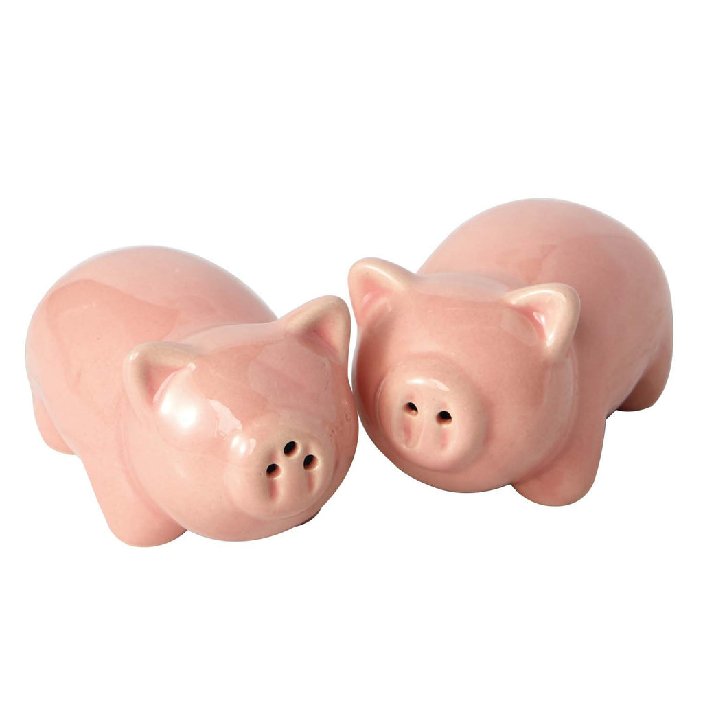 Wholesale Pigs Ceramic Salt & Pepper Shakers - DII Design Imports