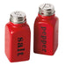 Wholesale Red Ceramic Salt & Pepper Shakers - DII Design Imports
