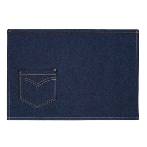 Wholesale - Denim Embellished Placemat - DII Design Imports - 1
