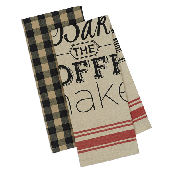 Wholesale - Mercantile Dishtowel Set of 2 - DII Design Imports - 1