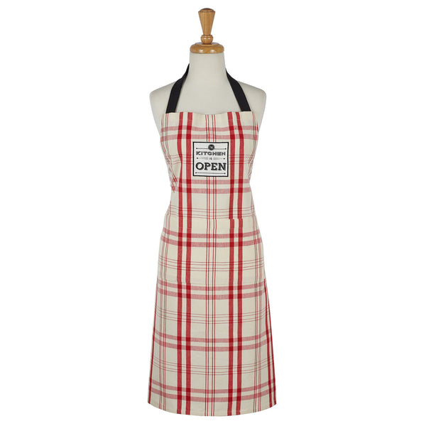 Wholesale - Kitchen is Open Chefs Apron - DII Design Imports - 1