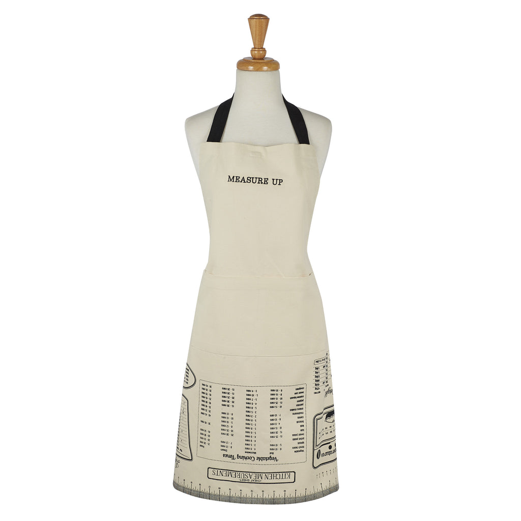 Wholesale - Measure Up Printed Chefs Apron - DII Design Imports - 1
