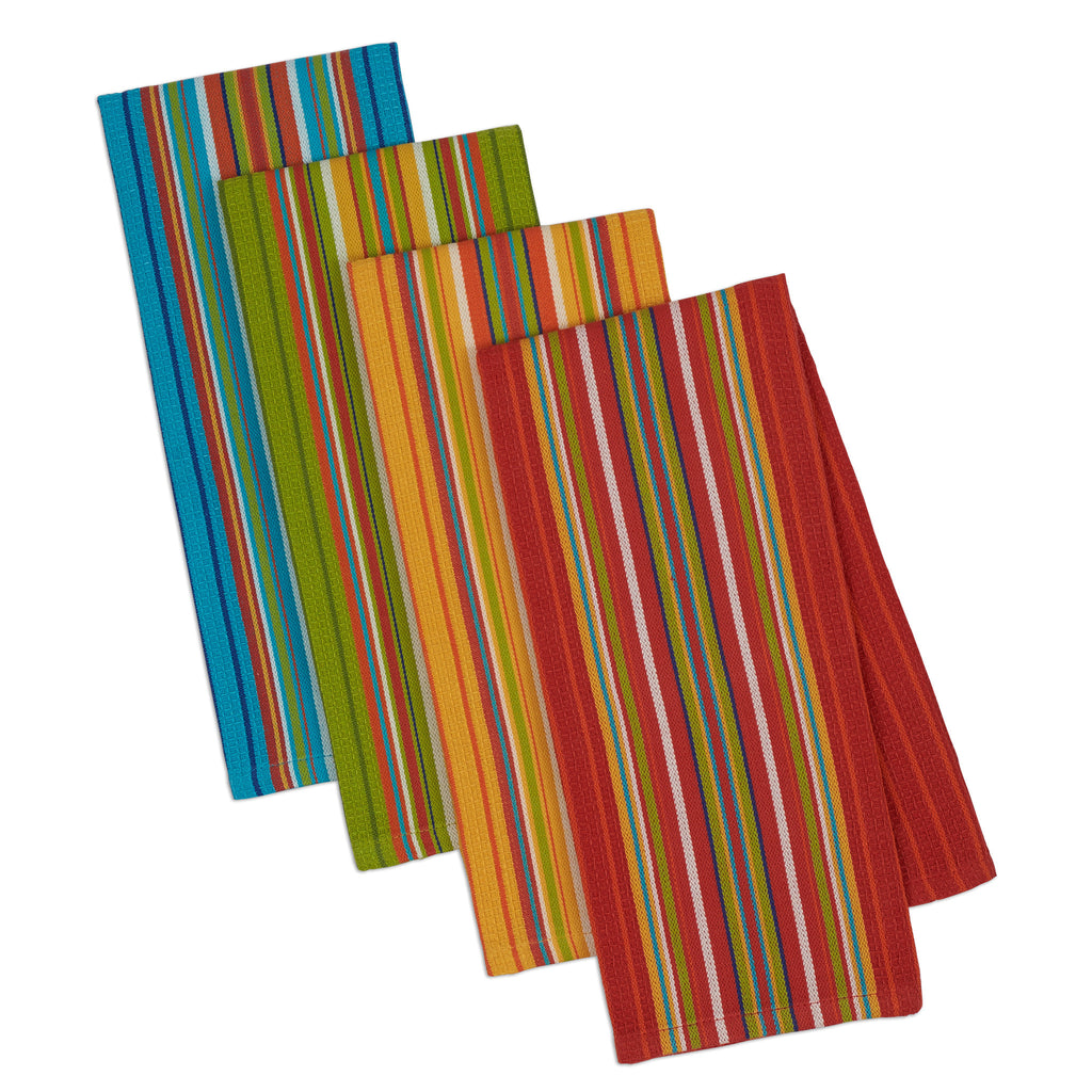 Wholesale - Cantina Stripes Dishtowel Set of 4 - DII Design Imports - 1