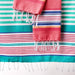 Wholesale - Beachy Blue Stripes Fouta Towel - Small - DII Design Imports - 4