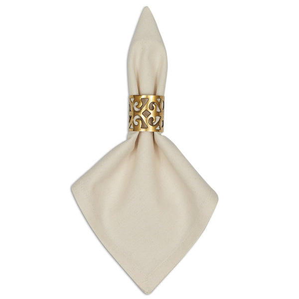 Scroll Gold Napkin Ring