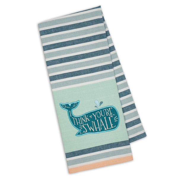 You're S'Whale Embellished Dishtowel - DII Design Imports
