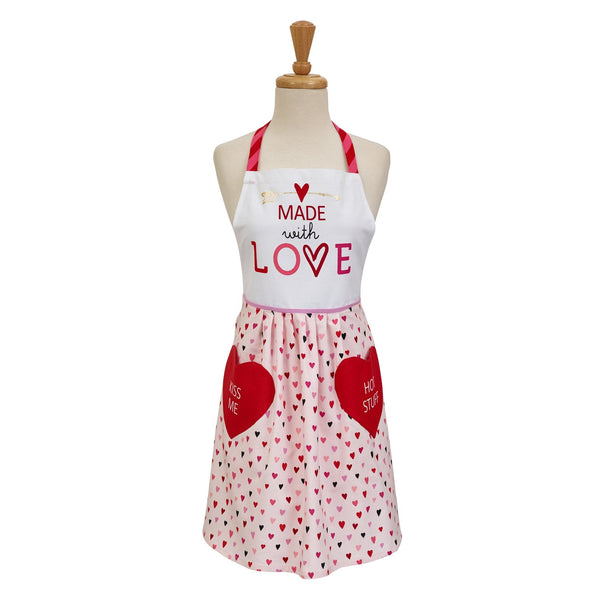 Wholesale Made with Love Printed Apron - DII Design Imports