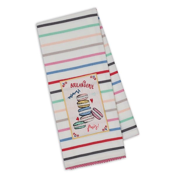 Wholesale Macarons Embellished Dishtowel - DII Design Imports