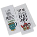 Coffee Love Printed Dishtowels - DII Design Imports