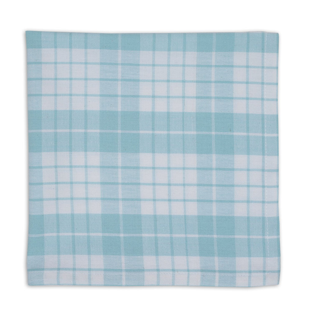 Good Morning Plaid Diamond Napkin - DII Design Imports