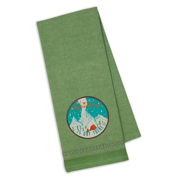 Wholesale Adventure Embellished Dishtowel - DII Design Imports