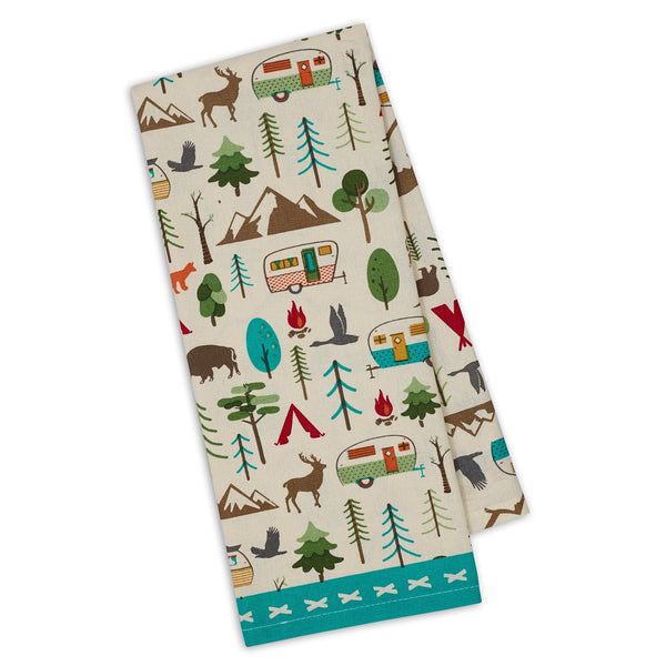 Wholesale Campsite Printed Dishtowel - DII Design Imports