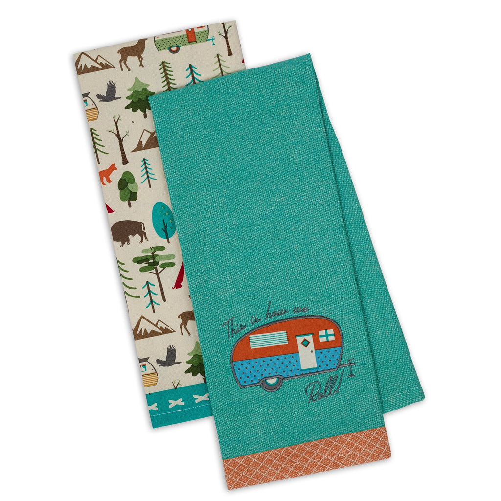 Wholesale How We Roll! Dishtowel Set of 2 - DII Design Imports