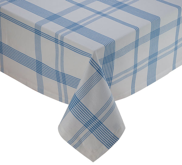 Summer Day Plaid Tablecloth