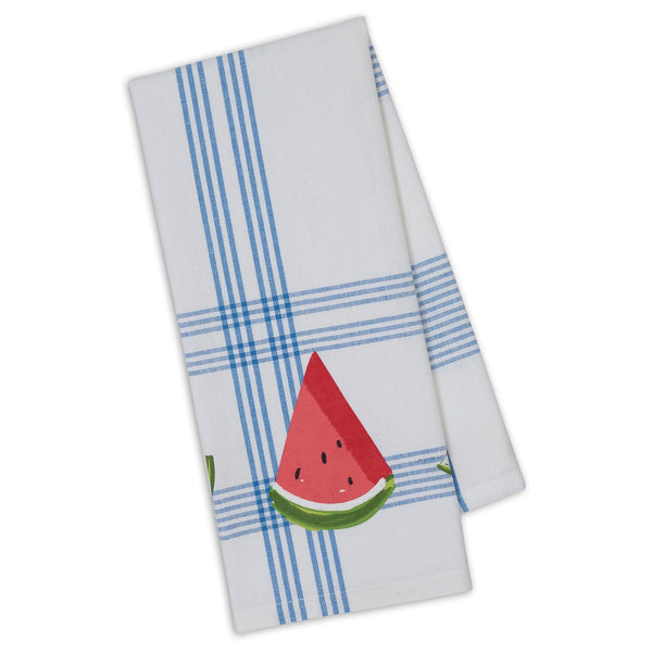 Watermelon Slice Printed Dishtowel
