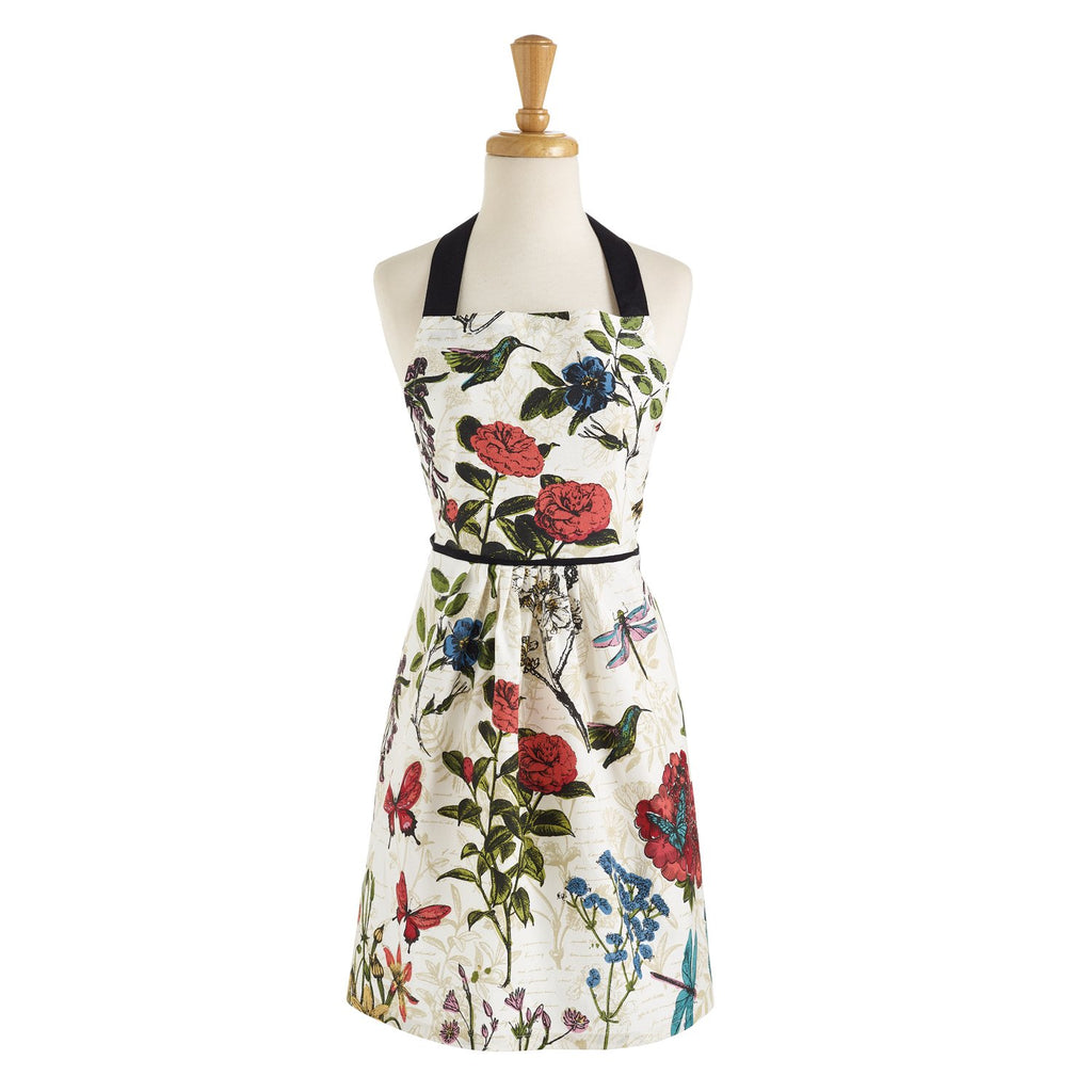 Wholesale Botanical Blooms Printed Apron - DII Design Imports
