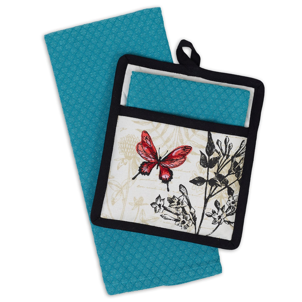 Botanical Potholder Gift Set - DII Design Imports