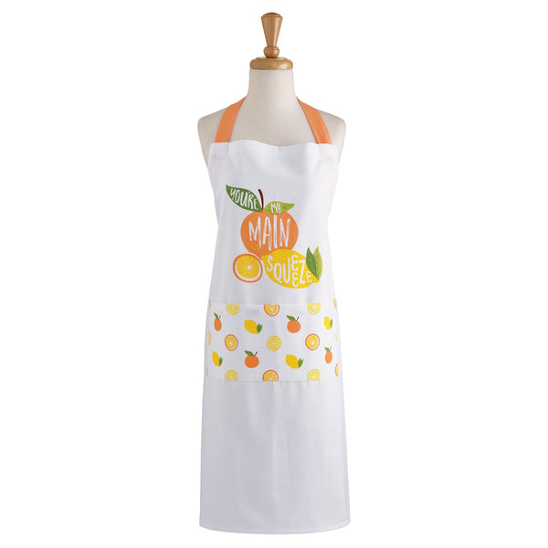 Wholesale Main Squeeze Citrus Printed Apron - DII Design Imports