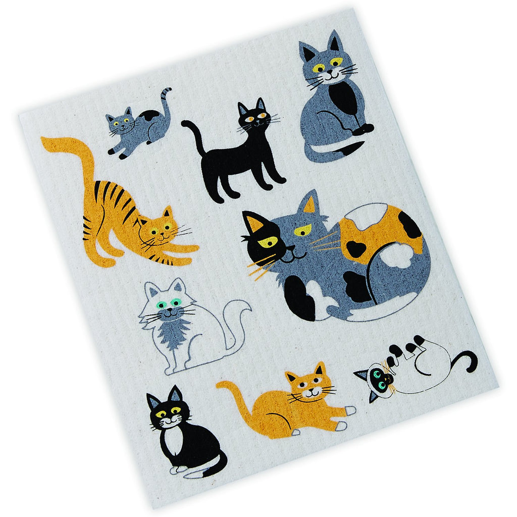 Cats Swedish Dishcloth - DII Design Imports