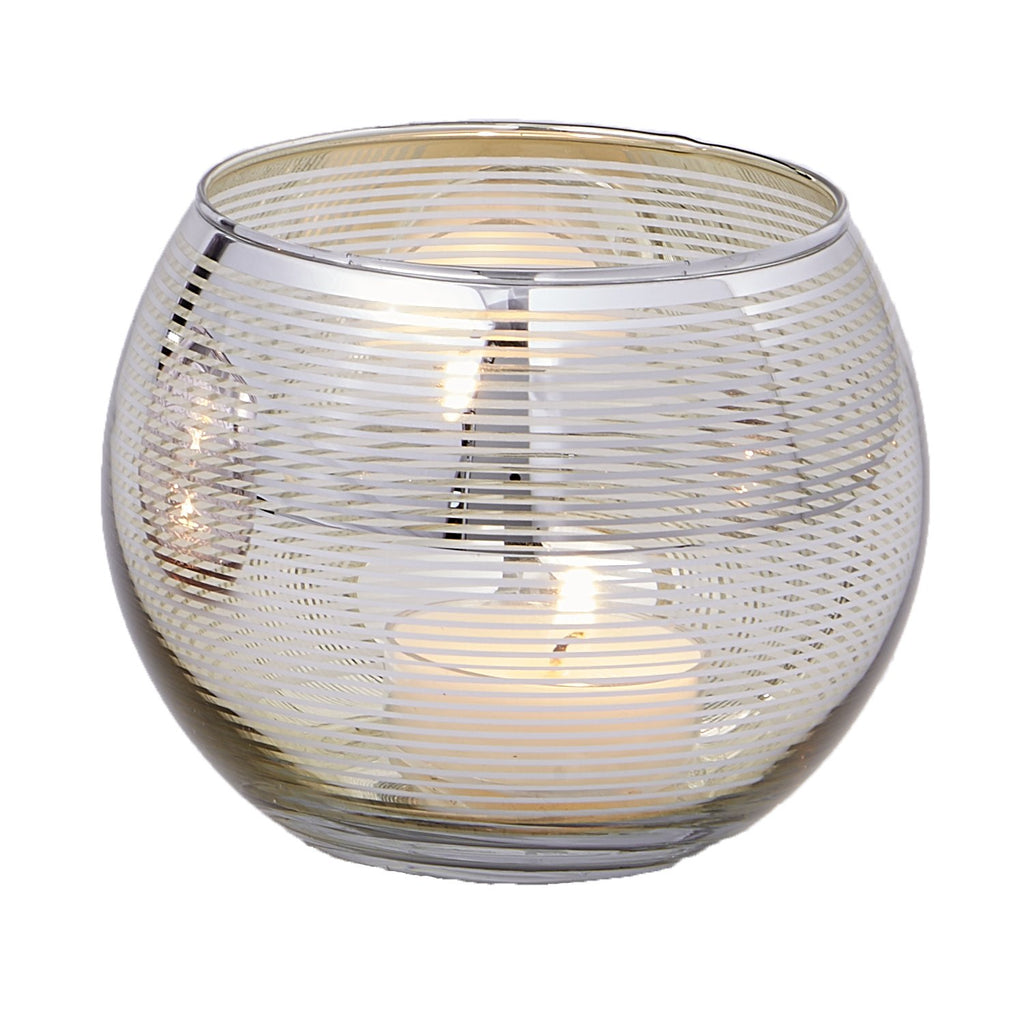 Gold Round Candle Holder - DII Design Imports