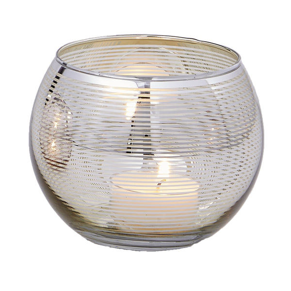 Wholesale Gold Round Candle Holder - DII Design Imports