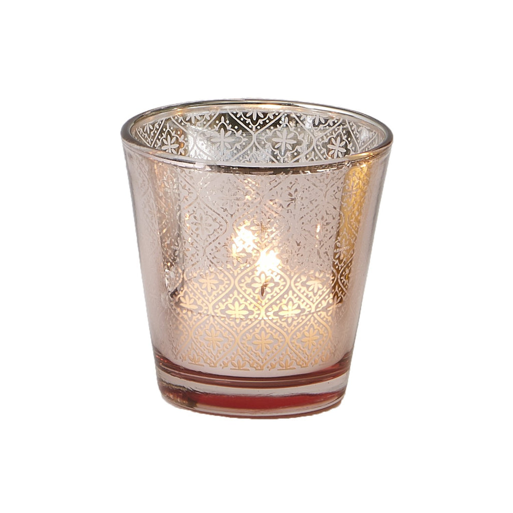 Rose Gold Tapered Tea Light - DII Design Imports