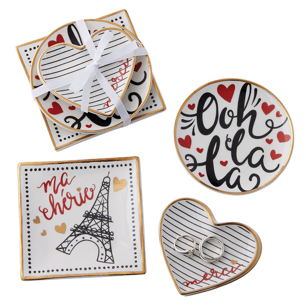 I Love Paris Catchall Set - DII Design Imports